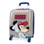 Mala Viagem / Escolar Infantil Mickey - Tamanho P de Bordo