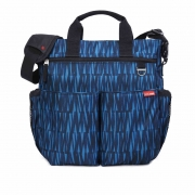 Bolsa Maternidade Skip Hop (Diaper Bag) Duo Signature - Blue Grafitti