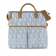Bolsa Maternidade Skip Hop Duo Limited Edition - Blue Print Stripe