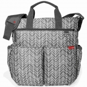 Bolsa Maternidade Skip Hop Duo Signature Grey Feather