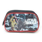 Estojo Com Dois Compartimentos Star Wars Vermelho - EI33045ST