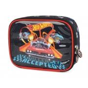 Estojo Escolar Box 100 pens Hotwheels - EI35954HW