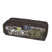 Estojo Escolar Duplo Pack Me T-Rex