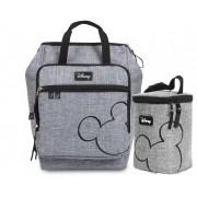 Kit Bolsa Maternidade e Porta Mamadeira Mickey Mouse