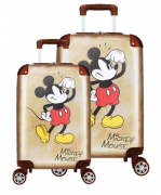 Kit Mala De Viagem / Escolar Mickey Mouse - Tam P E M