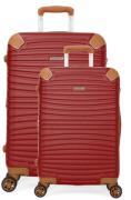 Kit Mala de Viagem Polo King Nápoles -Tam P e G c/ cadeado TSA
