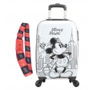 Kit Mala Escolar/Viagem, Cinta Protetora Mickey Mouse