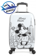 Mala de Viagem Mickey Mouse New York – Tam P de Bordo C/ Cadeado