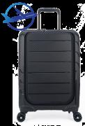 Mala De Viagem Polo King, Prata - Tam P de Bordo C/ TSA + Notebook