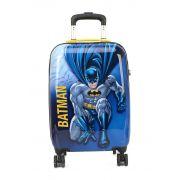Mala Escolar / Viagem Infantil Batman Tam P de Bordo C/ Cadeado