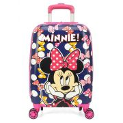 Mala Escolar / Viagem Infantil Minnie Tam P de Bordo - MF10265MI