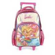 Mochila Carrinho Escolar Barbie - IC35892BB