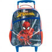 Mochila com carrinho  Escolar Homem Aranha - 8660