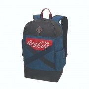 Mochila De Costas Coca Cola Connect Denim Pro