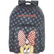 Mochila Escolar Juvenil Minnie Mouse - 9094