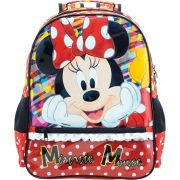 Mochila Escolar Minnie Mouse - 8923