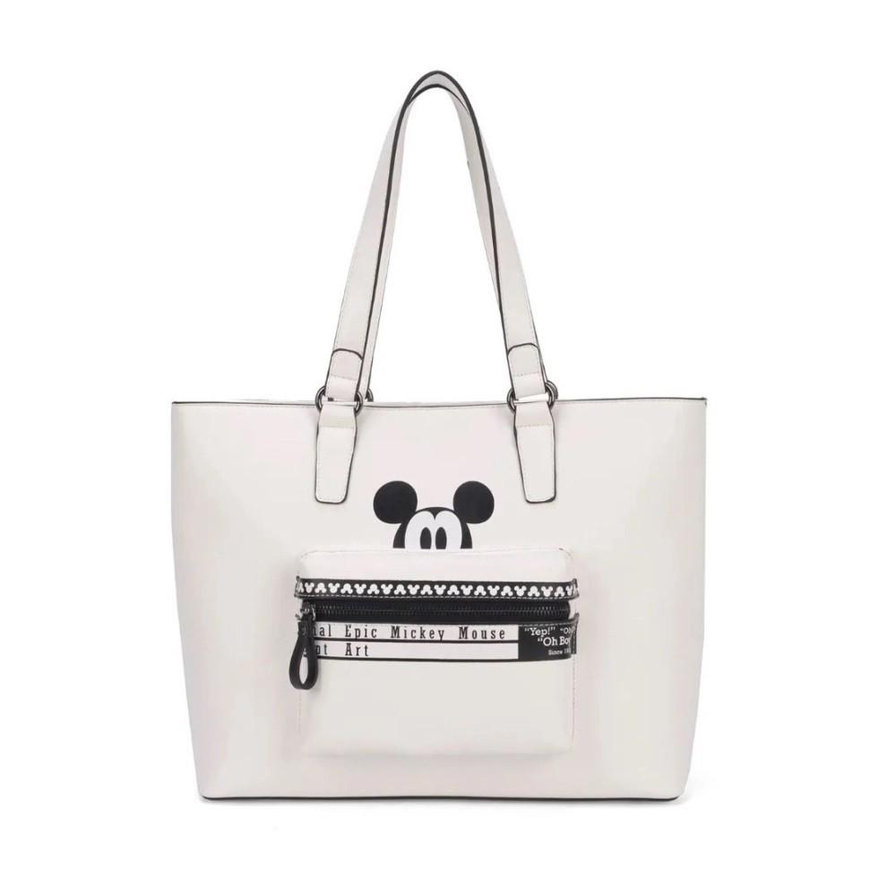 Bolsa de Ombro Feminina Mickey Mouse - BMK78378