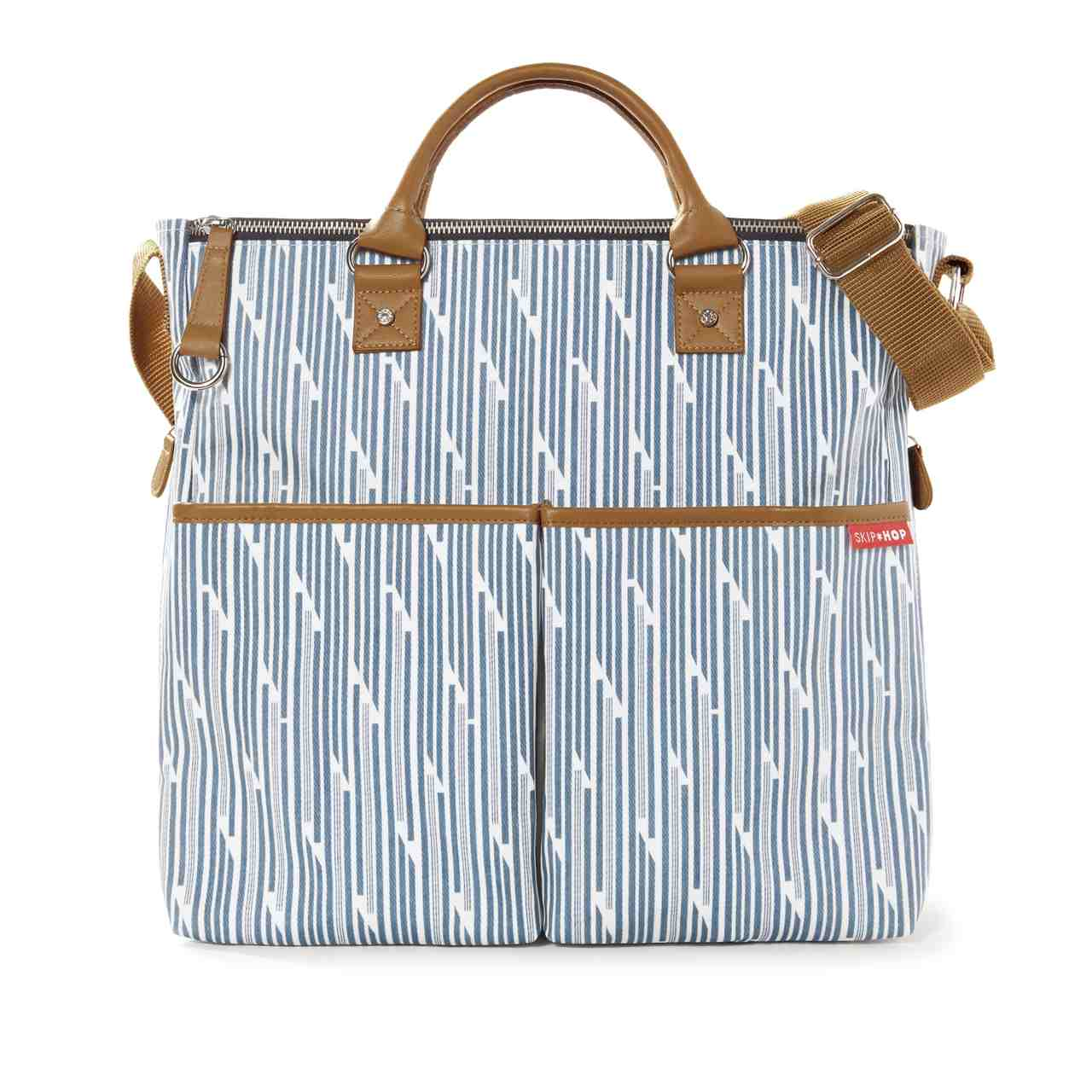 Bolsa Maternidade Skip Hop Duo Limited Edition - Blue Print Stripe