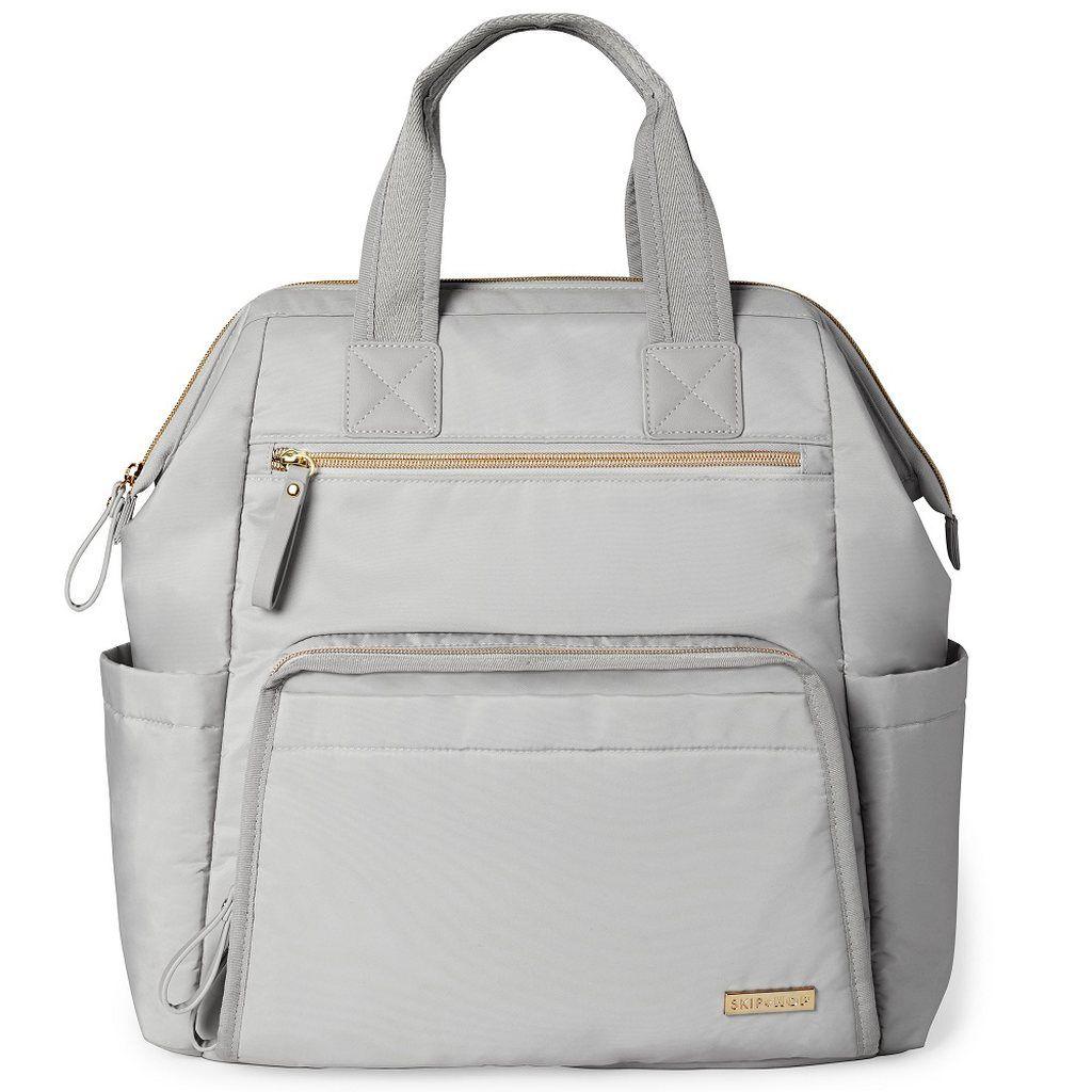 Bolsa Maternidade Skip Hop - Mainframe Backpak Cement (DIAPER BAG) (Mochila)