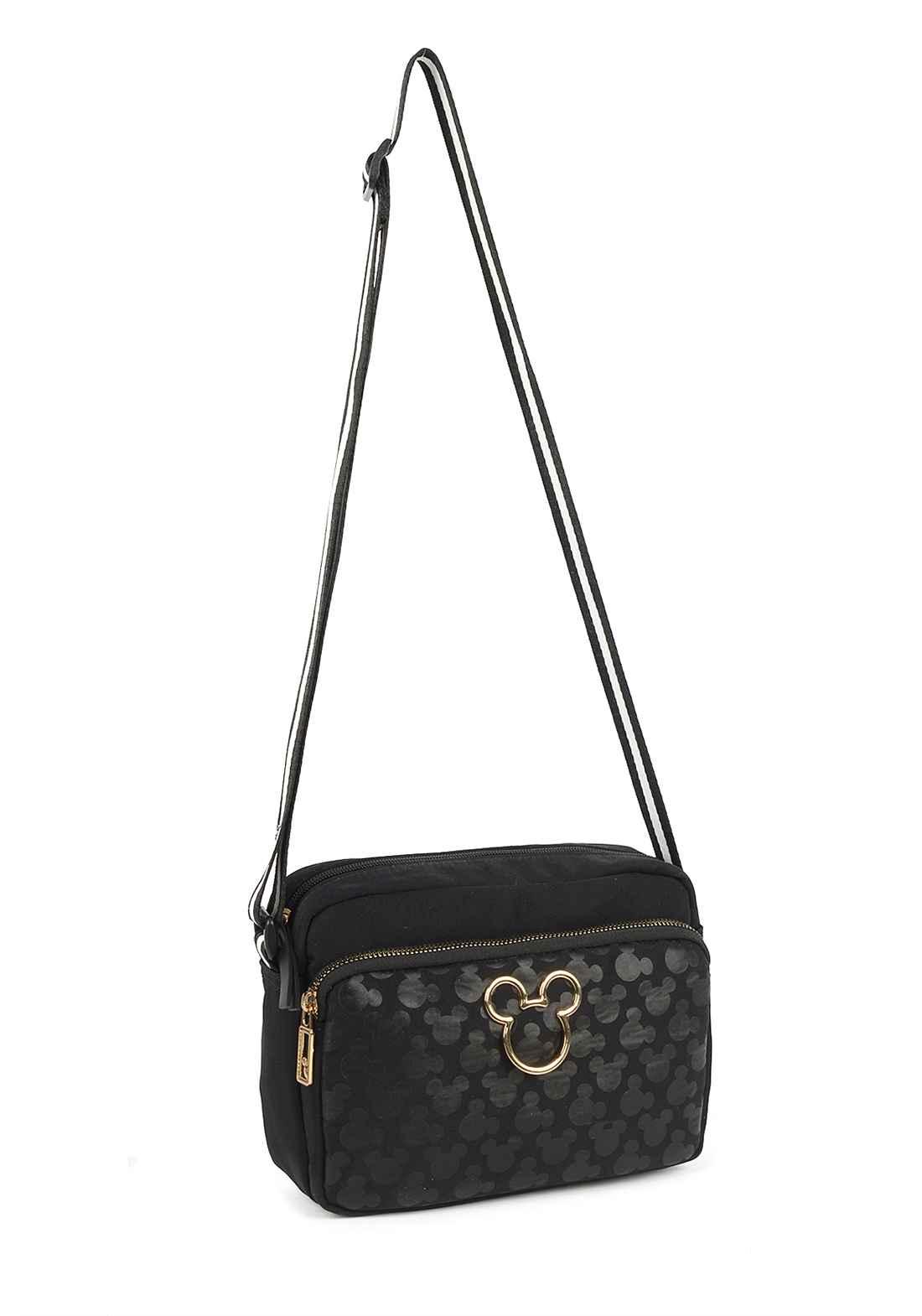 Bolsa Transversal Feminina Mickey Mouse BMK78484