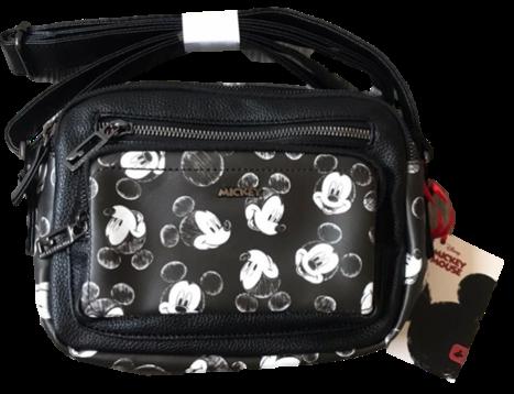 Bolsa Transversal Feminina Mickey Mouse BMK78490