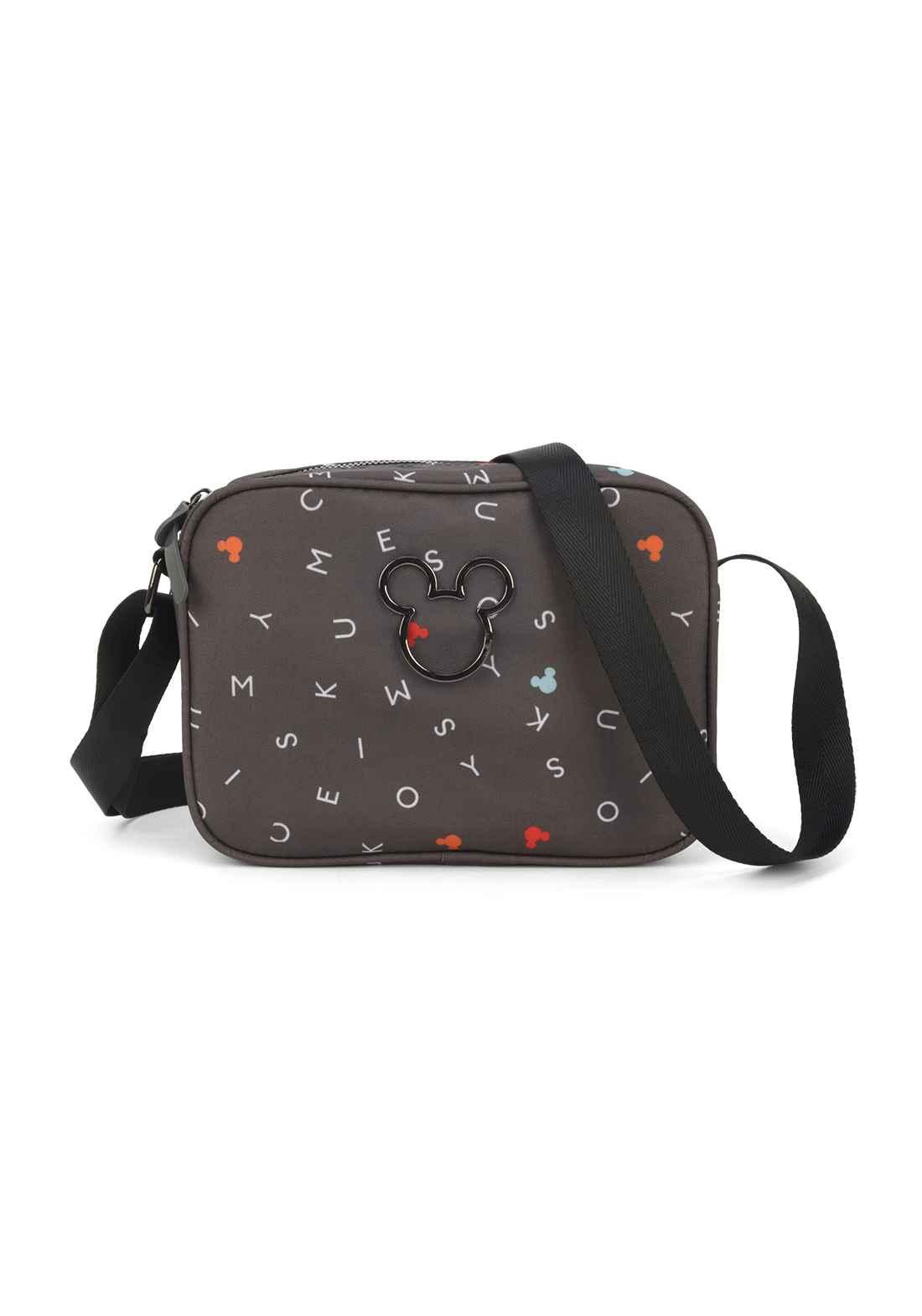 Bolsa Transversal Feminina Mickey Mouse BMK78498