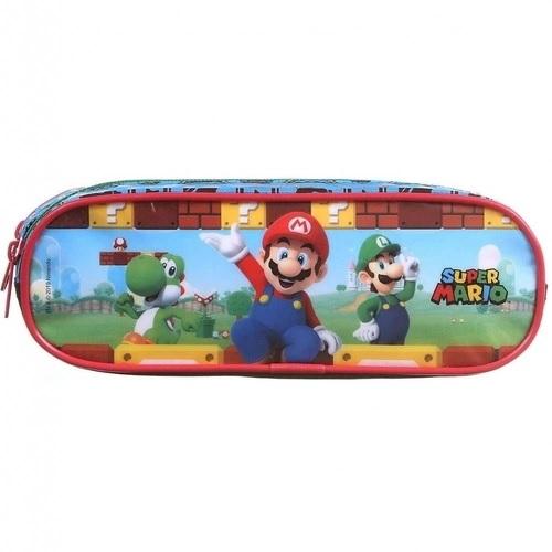 Estojo Duplo Escolar Super Mario - Nintendo