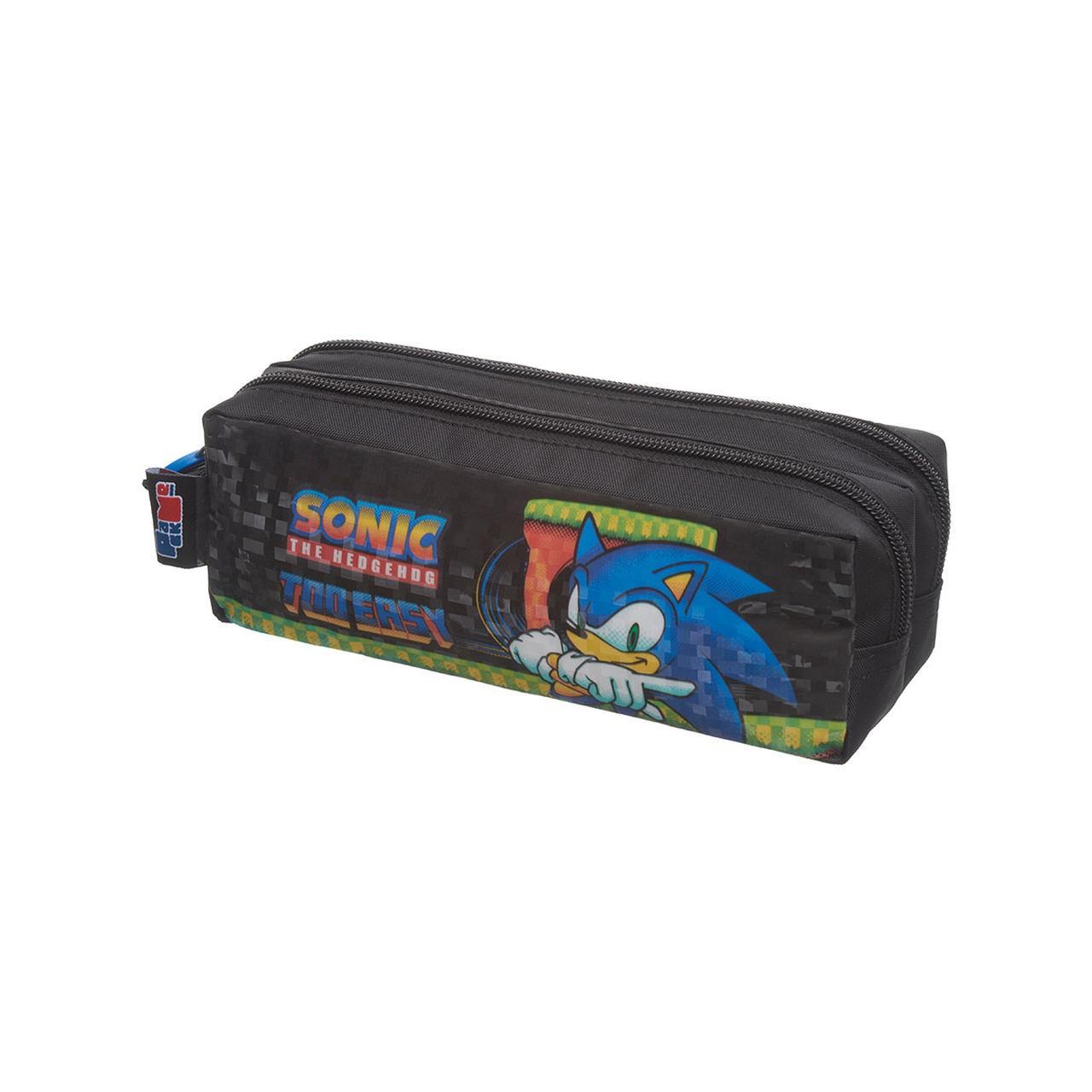 Estojo Duplo Sonic Speed Dots - 989B17