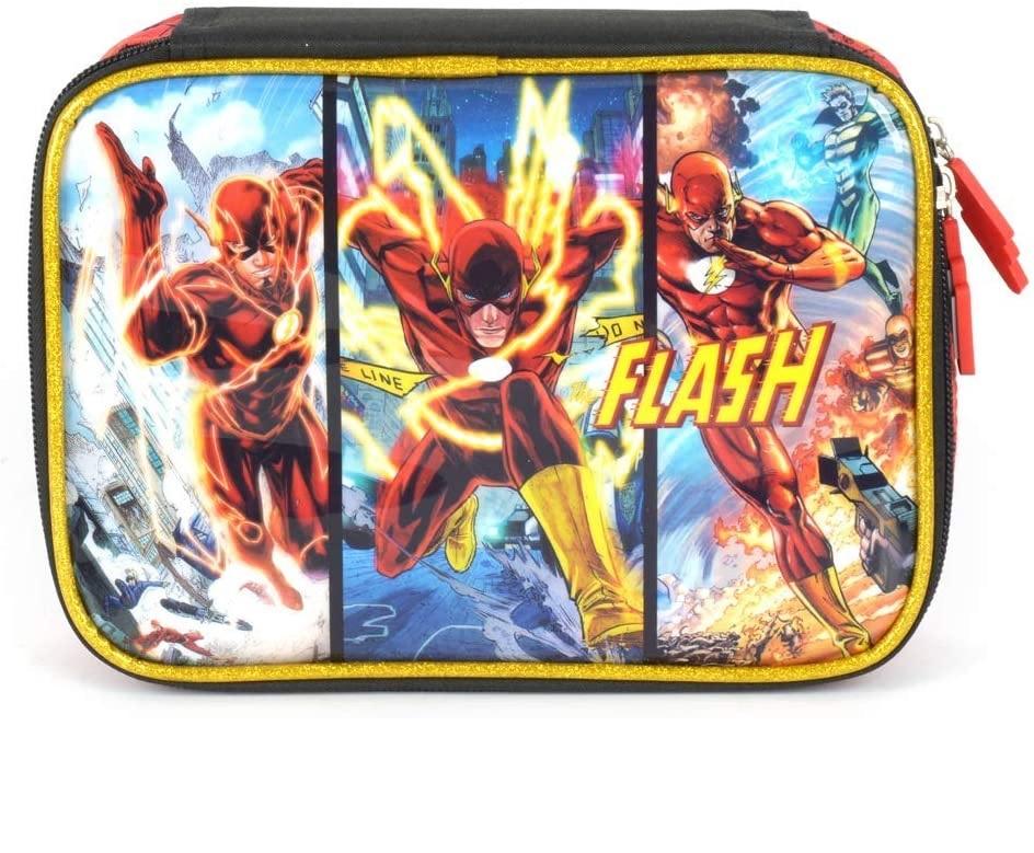 Estojo Escolar Box Flash 100 pens - EI35565FM