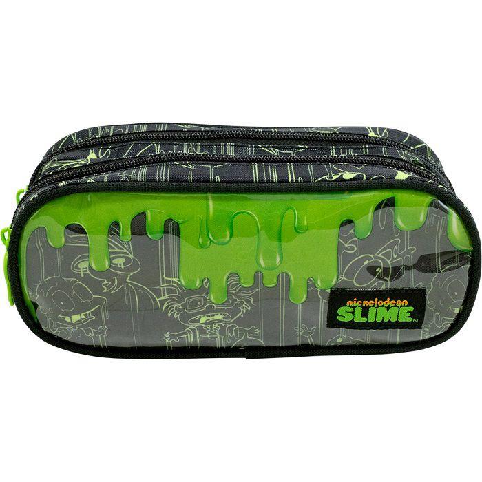 Estojo Slime Com Dois Compartimentos - 9238