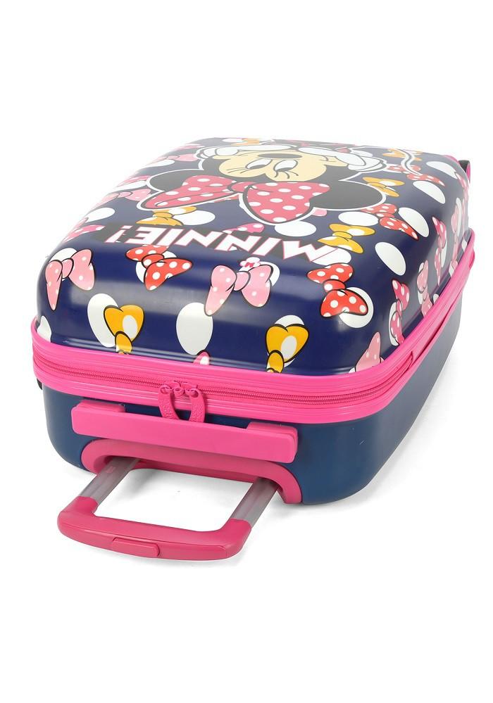 Kit Mala Escolar/Viagem, Lancheira Minnie Mouse