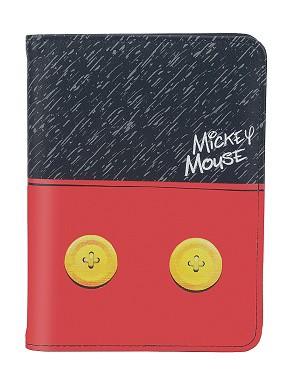 Kit Mala Escolar/Viagem, Lancheira, Porta Passaporte/Documentos Mickey Mouse