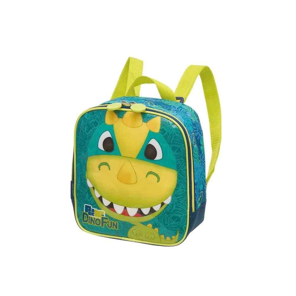 Lancheira Térmica Escolar Pack Me Dino Fun