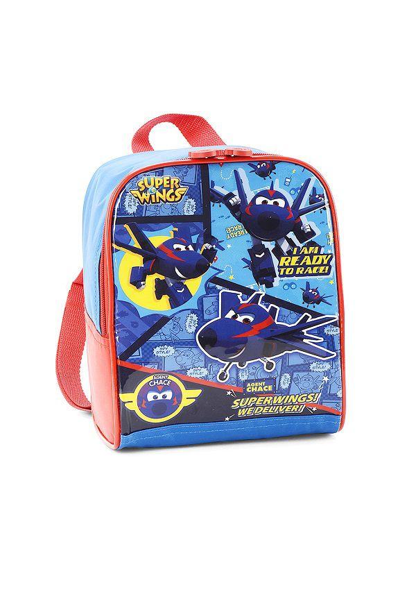 Lancheira Térmica Escolar Super Wings