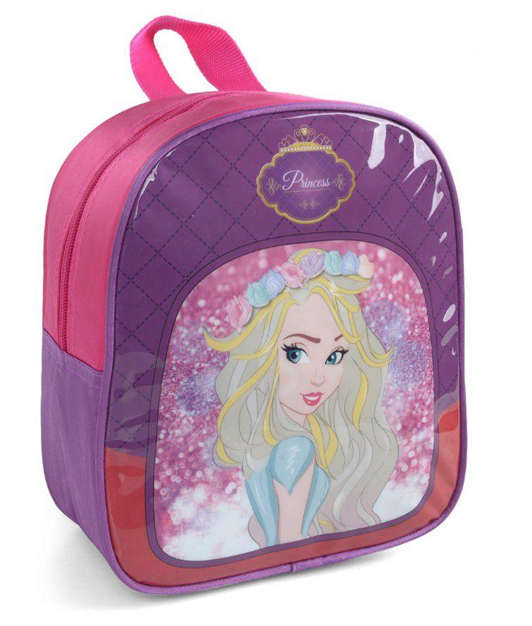 Lancheira Térmica Infantil Princesa Emily Rosa