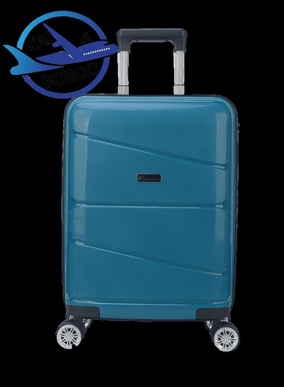 Mala De Viagem Polo King Coral - Tam P  de Bordo C/ Cadeado TSA