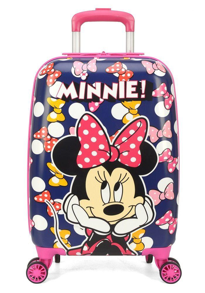 Mala Escolar/Viagem Infantil Minnie Tam P de Bordo - MF10265MI