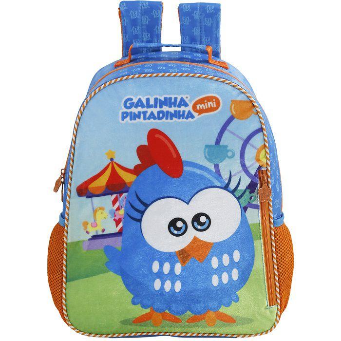 Mochila Baby Galinha Pintadinha Mini  - 7652