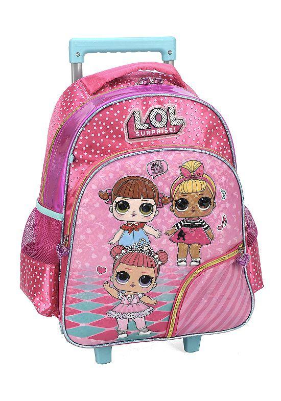 Mochila Carrinho Escolar LOL - IC34602LO