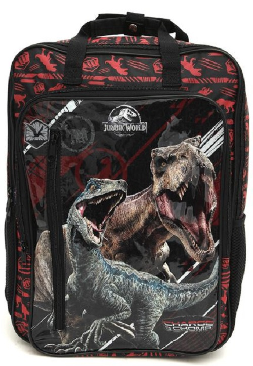 Mochila De Costas Escolar Jurassic World