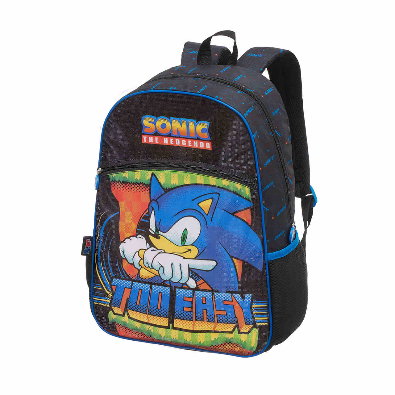Mochila De Costas Escolar Sonic Speed Dots - 989B04