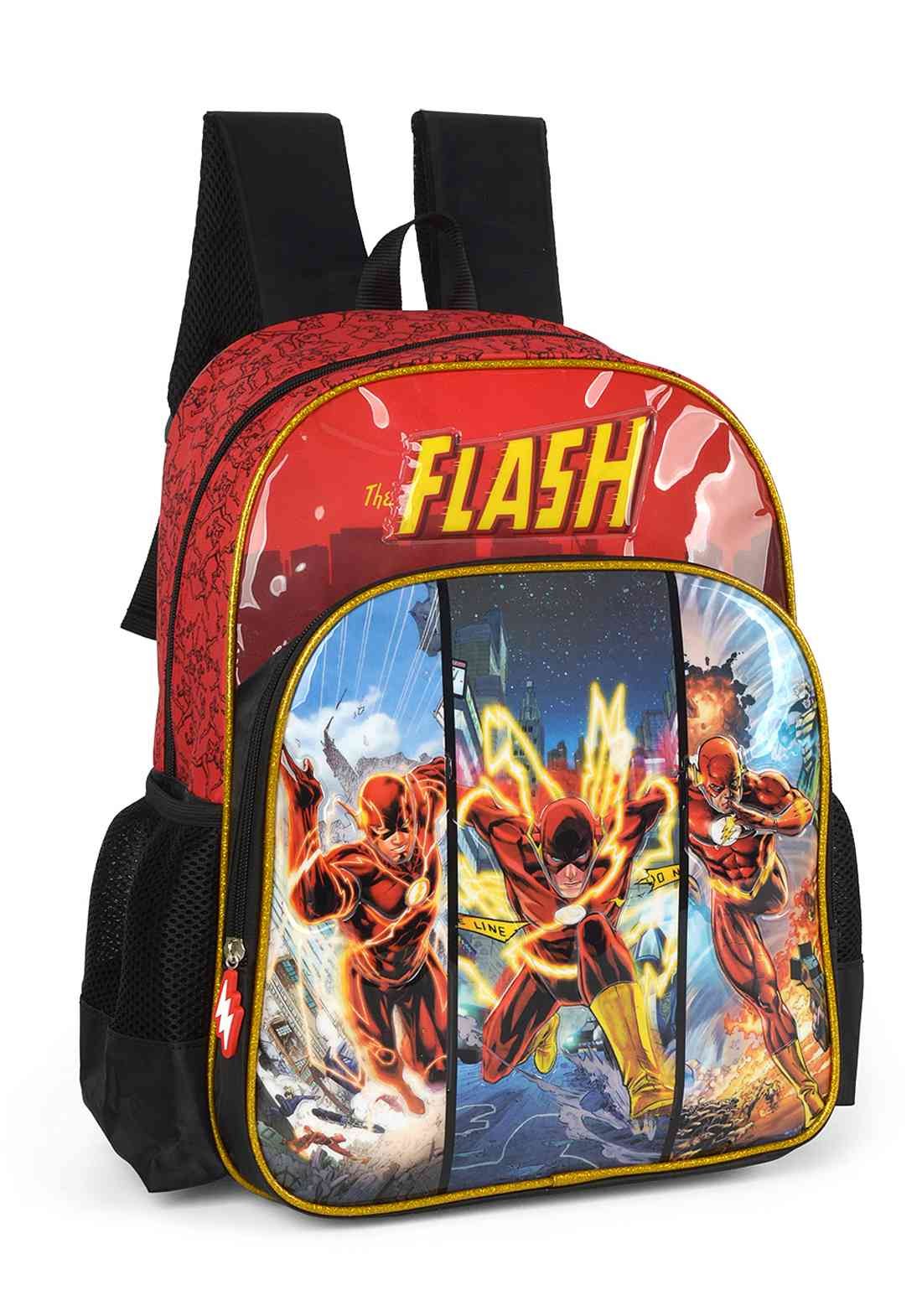 Mochila Escolar FLASH - IS35561FM