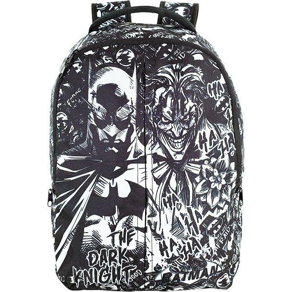Mochila Escolar Juvenil Batman VS Coringa  - 9074