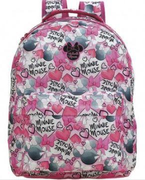 Mochila Escolar Juvenil Minnie Mouse - 9096