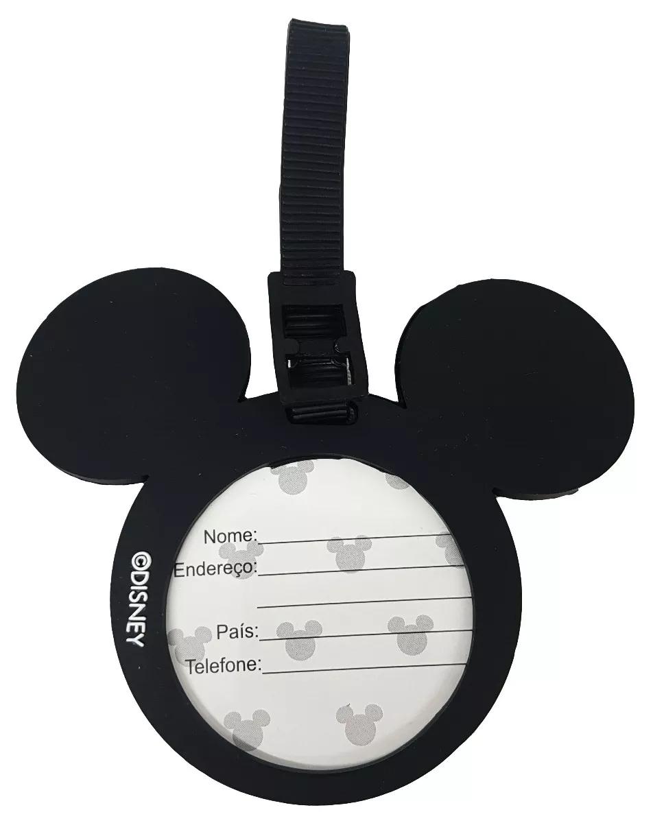 Tag para identificação de Mala de Viagem Mickey Mouse