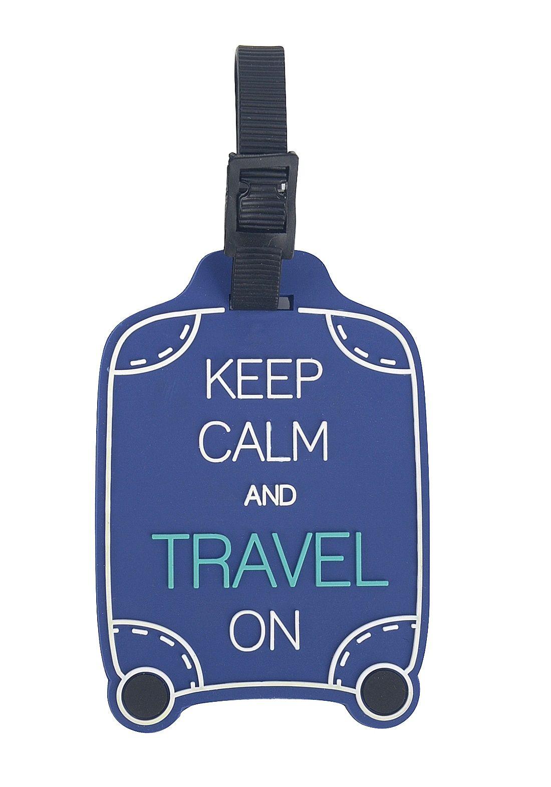 Tag para identificação de Malas de Viagem - Travel az