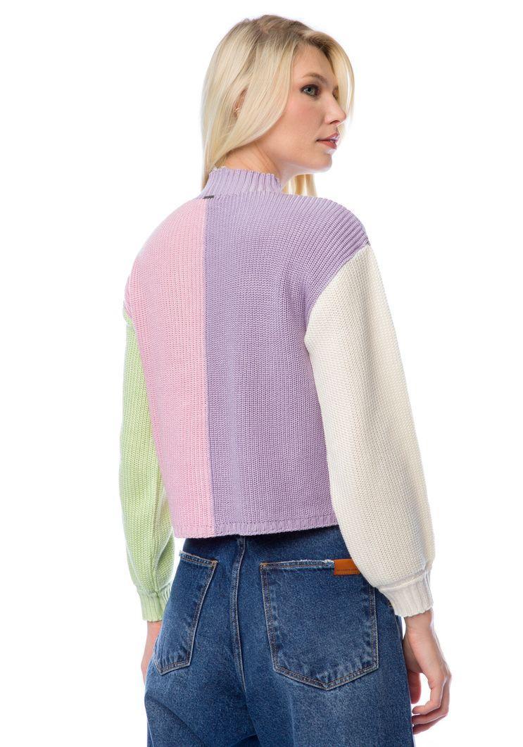 Blusa Myft tricot multi-color