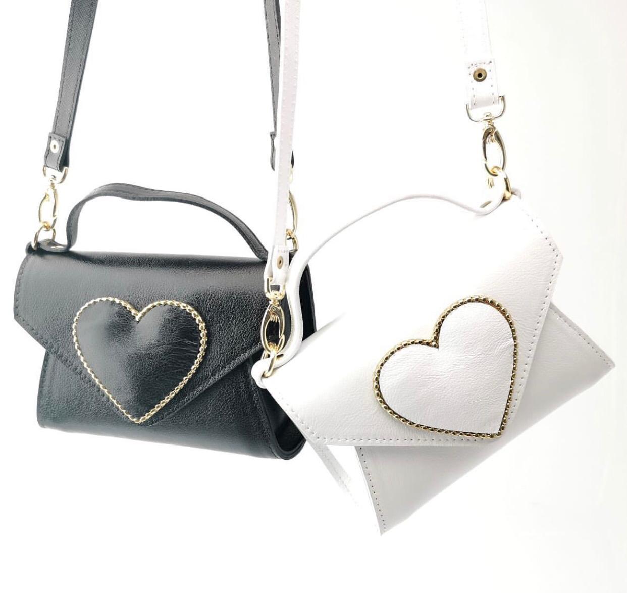 Bolsa coração pequena