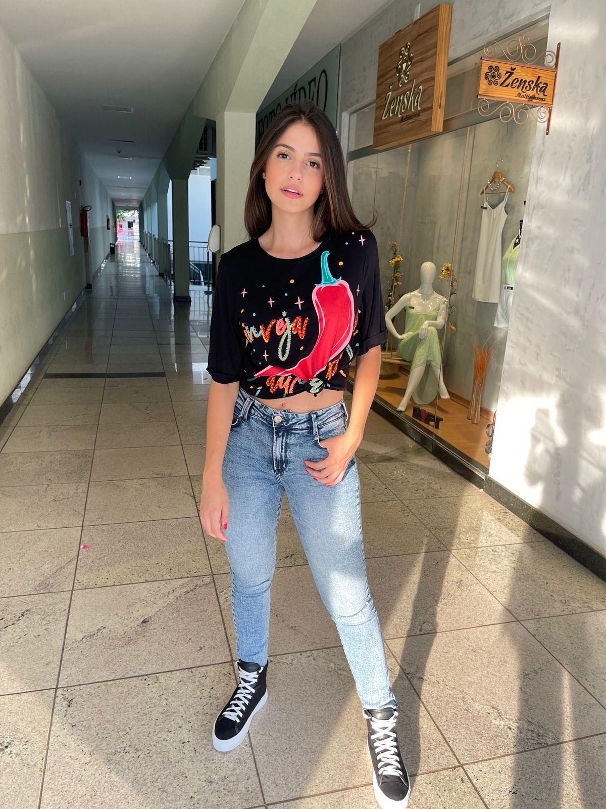 Calça Open jeans amanda
