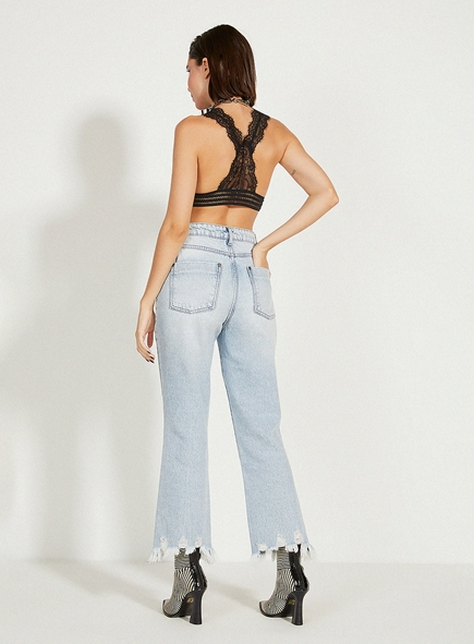 Calça Open jeans Carol